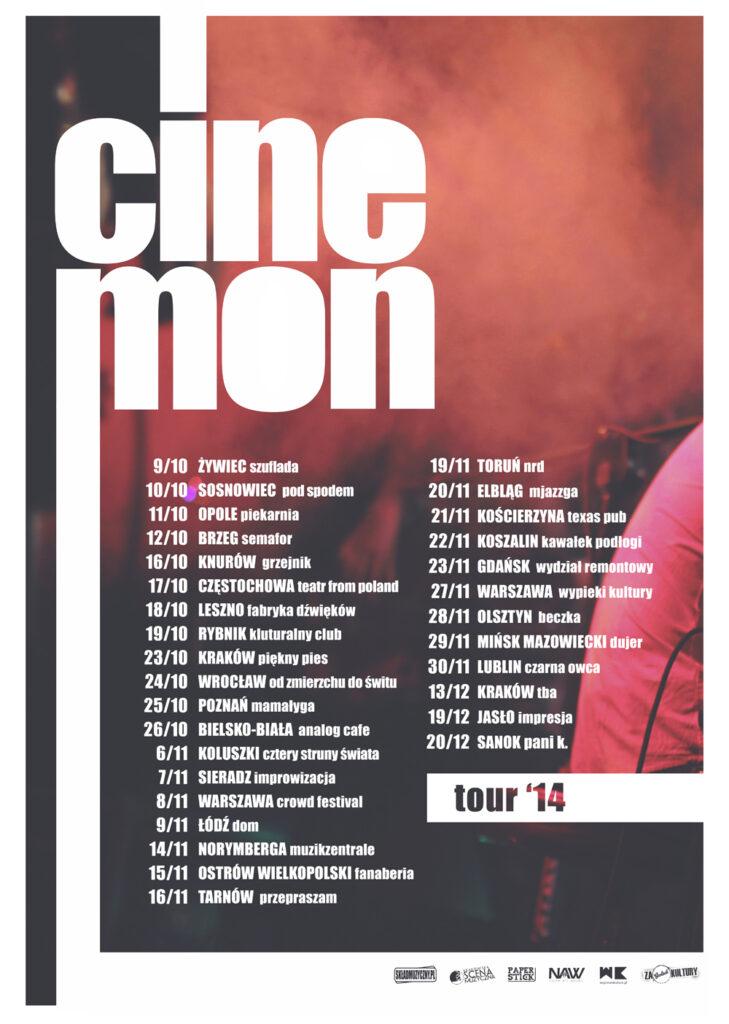 Cinemon Tour 2014 v2 SMALL